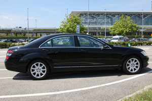 Airport Taxi-/Limousine-Service Basel - Mercedes 500