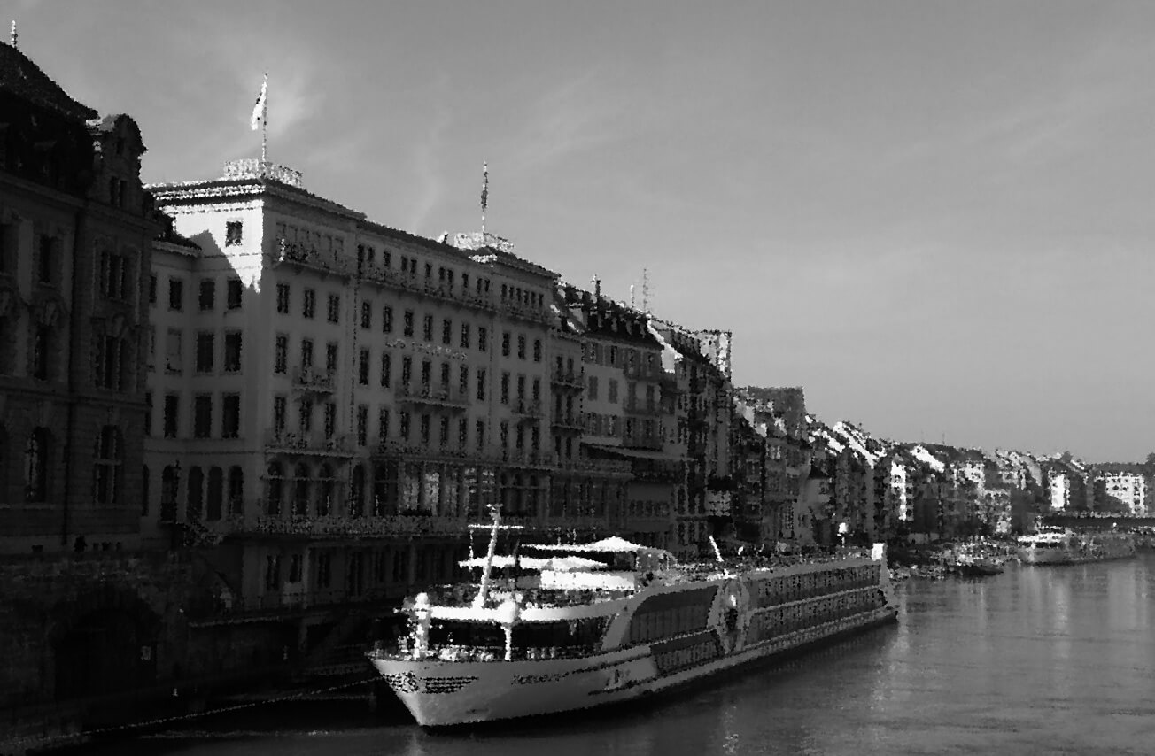 Airport Taxiservice Basel Rhine river cruise dock basel Schiffände