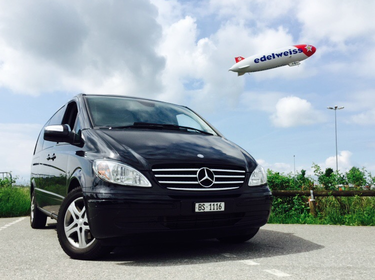 Airport Taxi Service Basel | cheap | multilingual | up to seven passengers